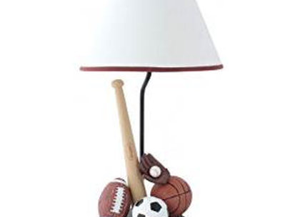Hand Painted Sports Table Lamp