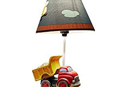 Construction Nursery Table Lamp