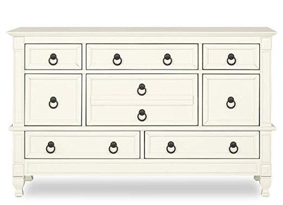 Adele Double Dresser in Creme Brulee
