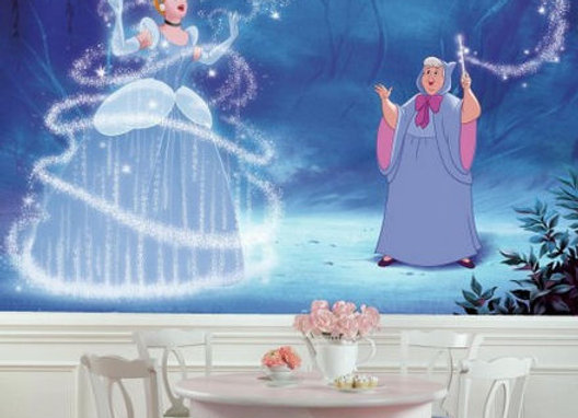 Cinderella Magic Disney XL Surestrip Wall Mural 10.5' x 6'