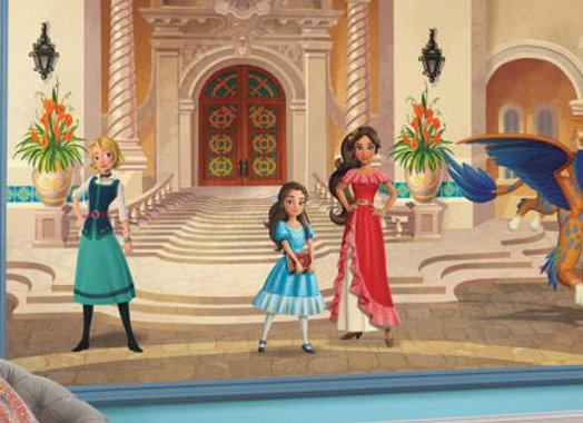 Disney Princess Elena of Avalor Surestrip Wall Mural 10.5' x 6'