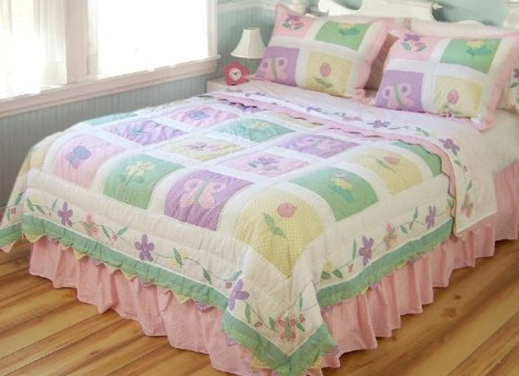 Spring Meadow Quilt and Sham Set