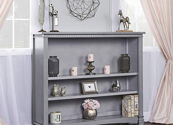Cheyenne and  Santa Fe Bookcase in Storm Gray