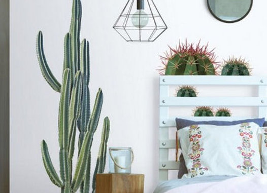 Roommates Cactus Peel and Stick Wall Decals