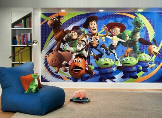 Toy Story 3 Surestrip Wall Mural 10.5' x 6