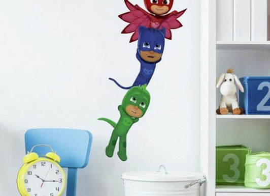Roommates PJ Masks Giant Superhero Peel and Stick Wall Decals