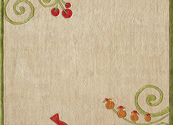 Momeni Kids Butterfly Garden Hand Carved and Tufted Area Rug