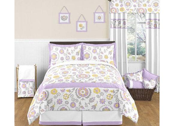 Sweet JoJo Designs Suzanna Floral Bedding Set