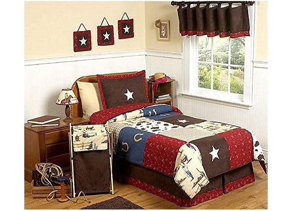 Sweet JoJo Designs Wild West Cowboy Western Bedding Set