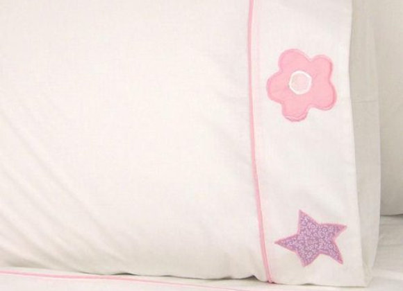 Princess Embroidered Sheet Set