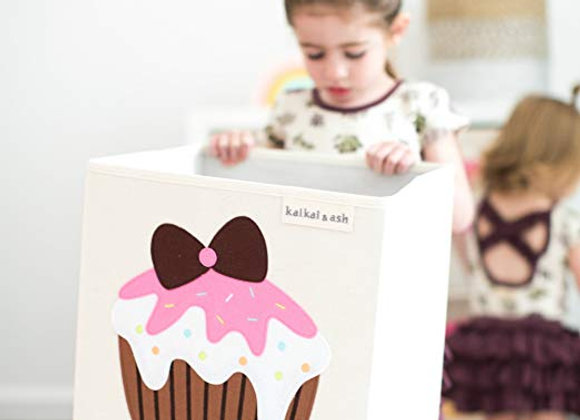 Cupcake Storage Canvas Cube