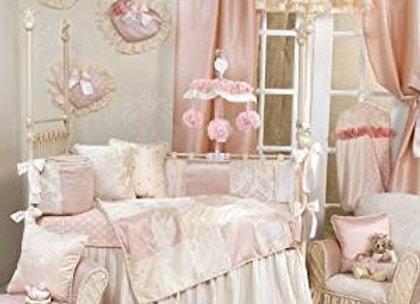 Glenna Jean Victoria 4 Piece Crib Bedding Set