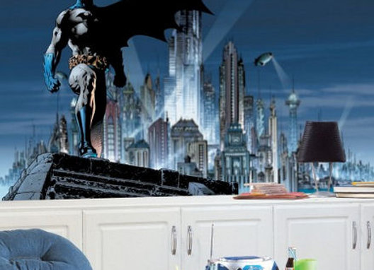 Batman XL Surestrip Wall Mural 10.5' x 6'
