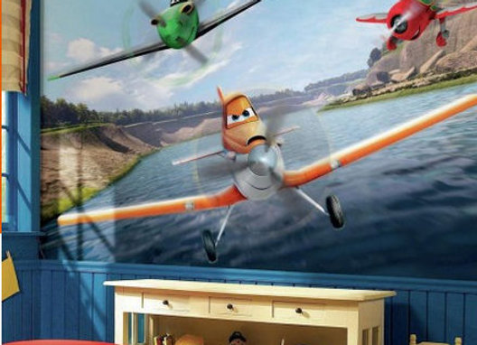 Disney Planes Surestrip Wall Mural 10.5' x 6