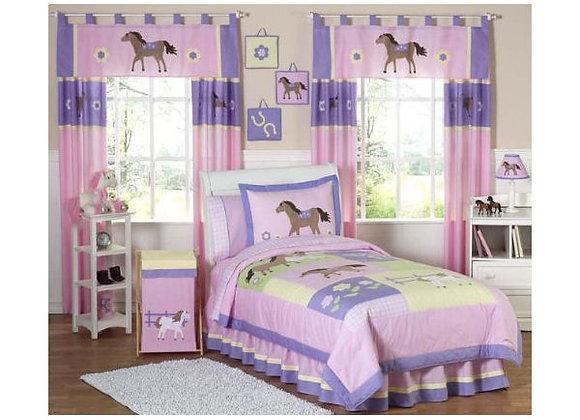 Sweet JoJo Designs Pretty Pony Bedding Set
