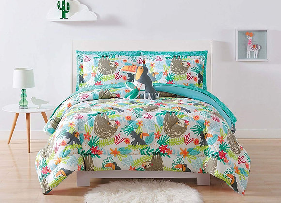 Laura Hart Hanging Out Comforter and Sham Set