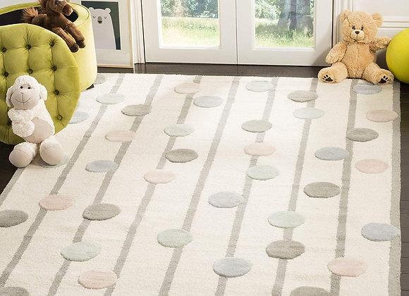 Safavieh Kids Confetti Dots Wool Area Rug