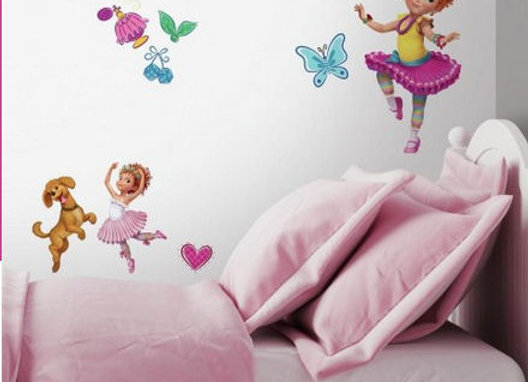 Roommates Fancy Nancy Peel and Stick Wall Decals