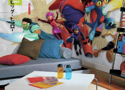 Big Hero 6 XL Surestrip Wall Mural 10.5' x 6'