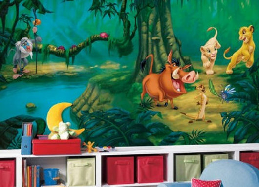 Disney Lion King Surestrip Wall Mural 10.5' x 6