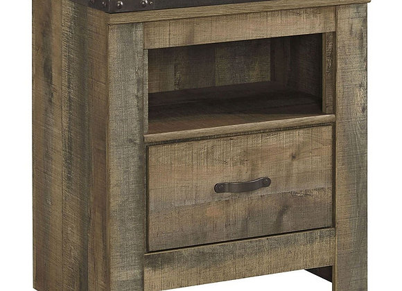 Trinell Warm Rustic Nightstand