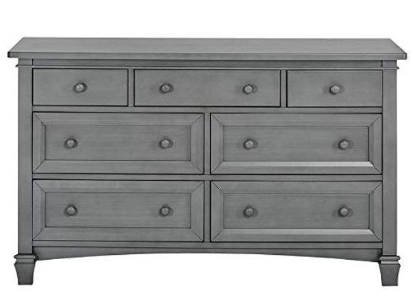 Fairbanks Double Dresser in Storm Gray