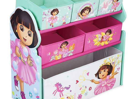 Nick Jr. Dora the Explorer Toy and Book Storage Bin