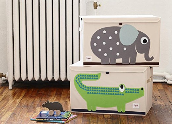 3 Sprouts Canvas Large Storage Toy Chest