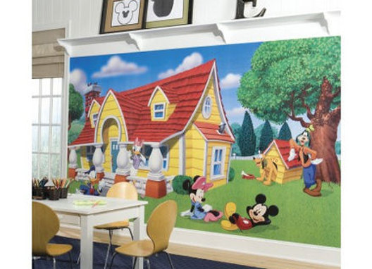 Mickey and Friends Surestrip Wall Mural 10.5' x 6