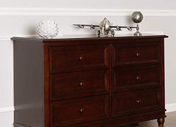 Hampton Double Dresser in Espresso