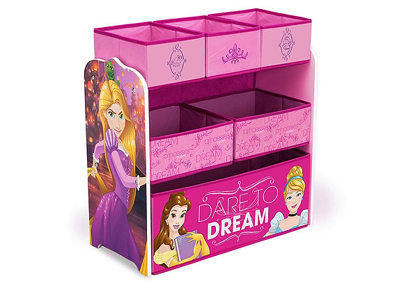 Disney Princess Toy and Book Storage Bin