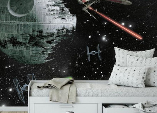 Star Wars Vehicles Surestrip Wall Mural 10.5' x 6