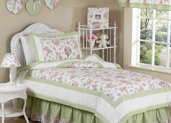 Sweet JoJo Designs Rileys Roses Chenille Bedding Set