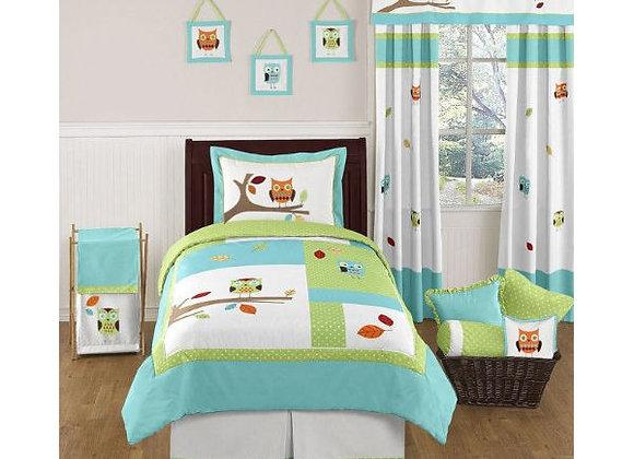 Sweet JoJo Designs Hooty Owl Bedding Set