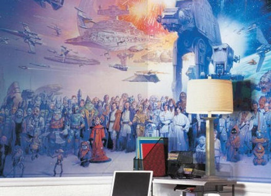Star Wars Saga Surestrip Wall Mural 10.5' x 6