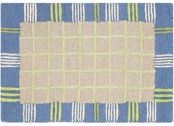 Safavieh Kids Taupe and Light Blue Wool Area Rug