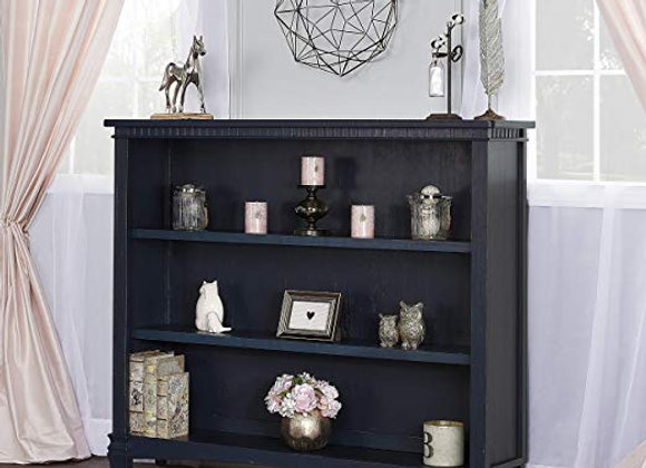 Cheyenne and  Santa Fe Bookcase in Distressed Navy Blue