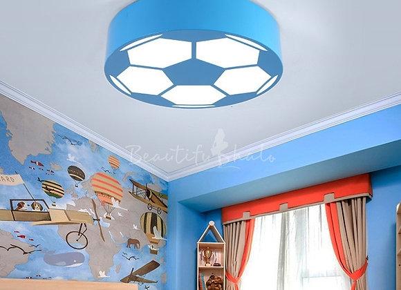 Soccer Ball LED Flush Mount Ceiling Light