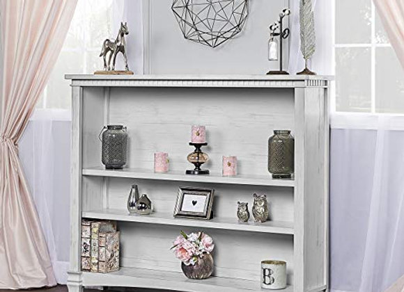 Cheyenne and Santa Fe Bookcase in Antique Gray