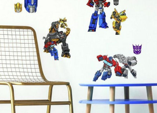 Roommates Transformer Cyberverse Peel and Stick Wall Decals