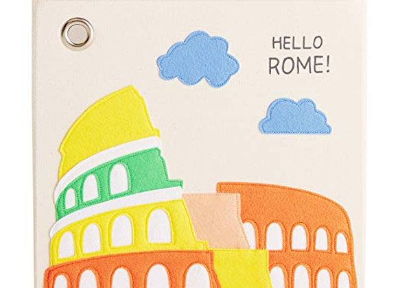Hello Rome Storage Canvas Cube