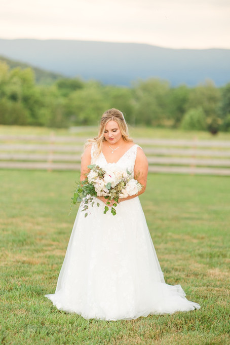 Austin + Courtney | A Classic Wedding at Misty Mountain | Fisher, West Virginia