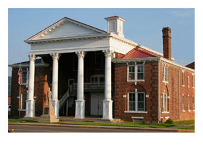 Old Grant County Court House