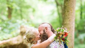 Rich + Tiffany   Simple Nature Wedding   Milam, West Virginia