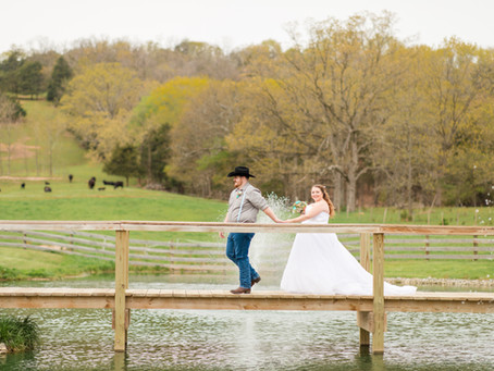 Tiffany + Jeb | Rustic Country Wedding at Misty Mountain | Fisher, WV