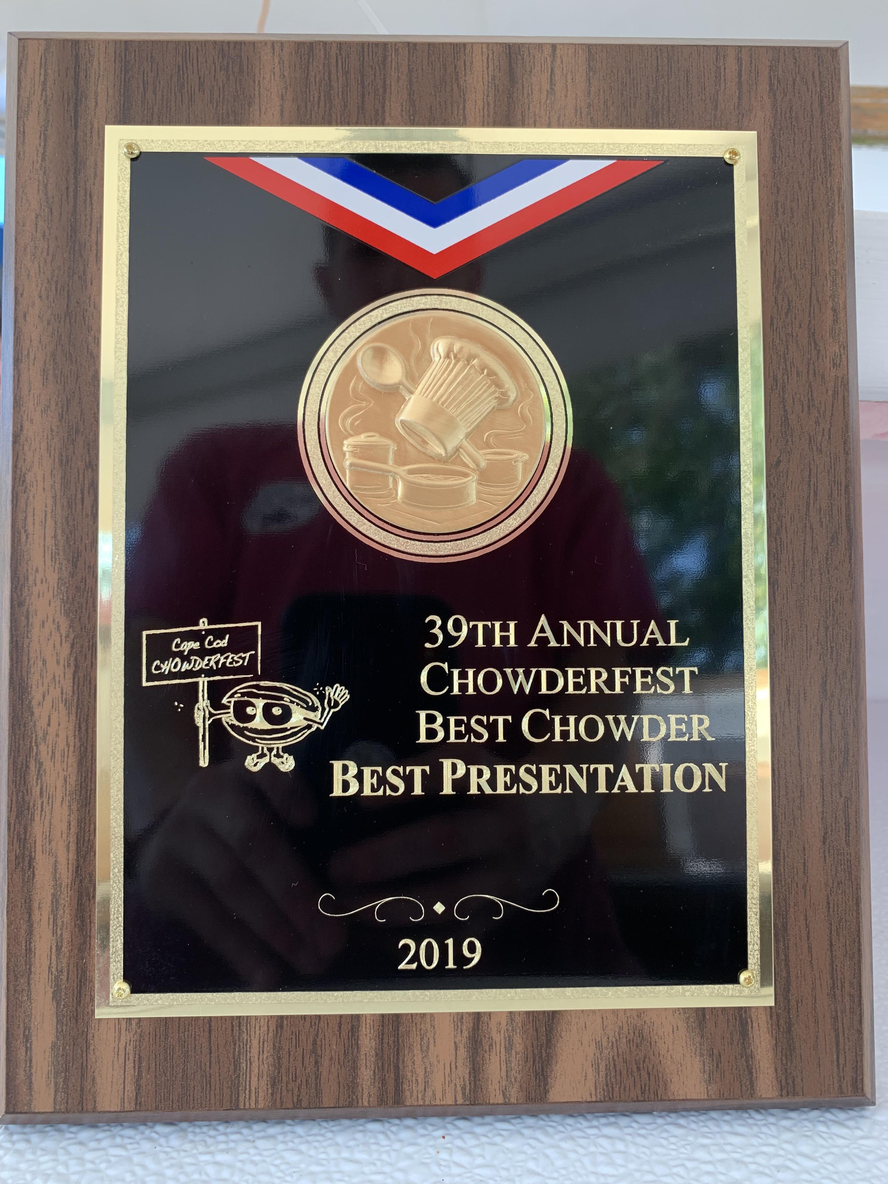 Chowderfest award