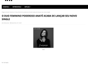 Indieoclock - O duo feminino poderoso Anaté acaba de lançar seu novo single