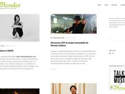 """""""8 Questions à Anaté"""" on Blender Bookmagazine"""