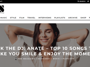 ASK THE DJ: ANATÉ – TOP 10 SONGS TO MAKE YOU SMILE & ENJOY THE MOMENT