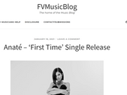 FVMusicBlog article on First Time